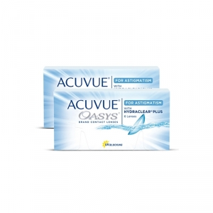 ACUVUE OASYS for ASTIGMATISM (Johnson + Johnson) 12 Linsen