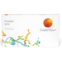 Proclear (Compatibles) Toric (Cooper Vision) 3 Linsen