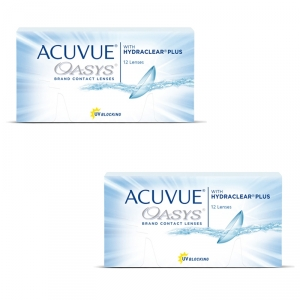 Acuvue Oasys 2x12er-Pack (Johnson+Johnson)