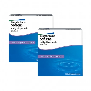 Soflens daily disposable 2x90er-Pack (Bausch + Lomb)