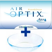 Air Optix Aqua 3er Box!! (Alcon/ Ciba Vision) Packungsinhalt: 3 Linsen + 1 Linse Air Optix plus HydaGlyde