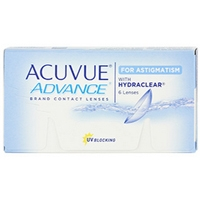 Acuvue Advance for Astigmatism (Johnson + Johnson) 6 Linsen